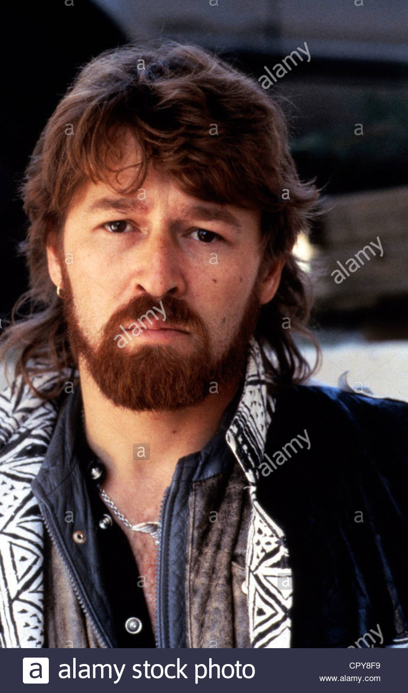 Maffay, Peter, * 30.8.1949, German singer, portrait, early 1980s, full beard, - Stock Image