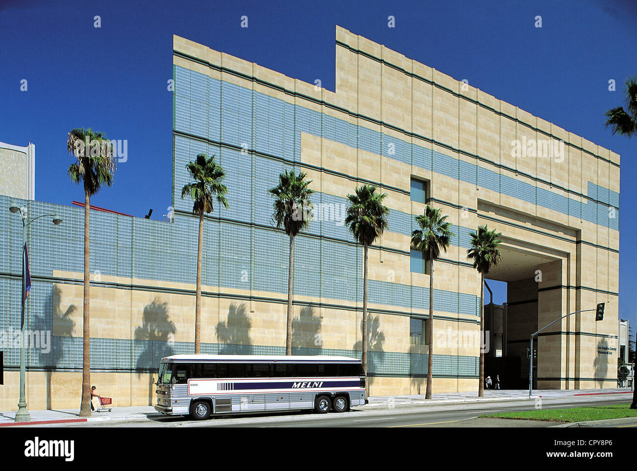 United States, California, Los Angeles, Wilshire Boulevard, Art Museum of LA County - Stock Image