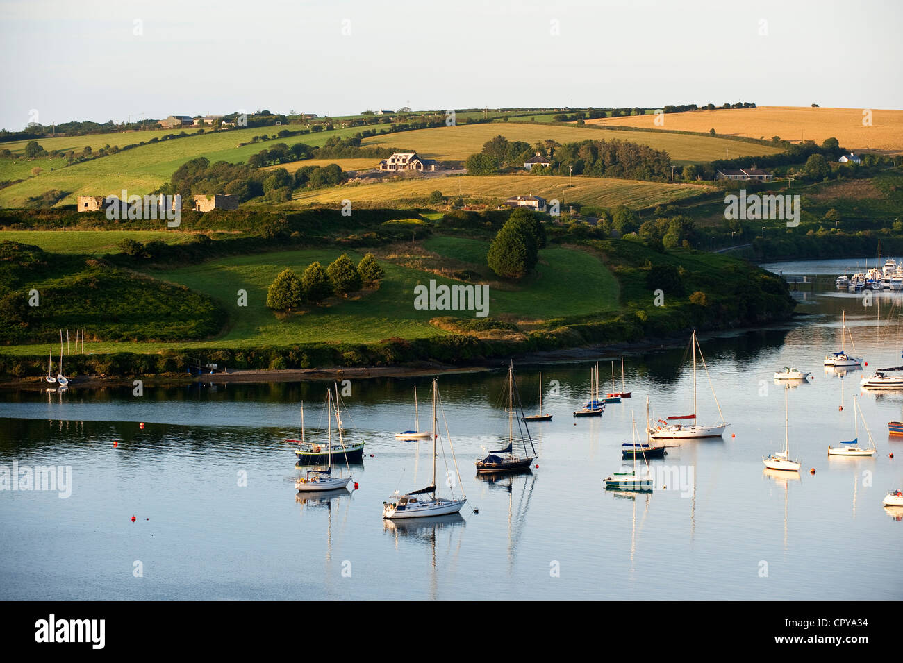 Republic of Ireland, Cork County, South West Coast, Kinsale - Stock Image