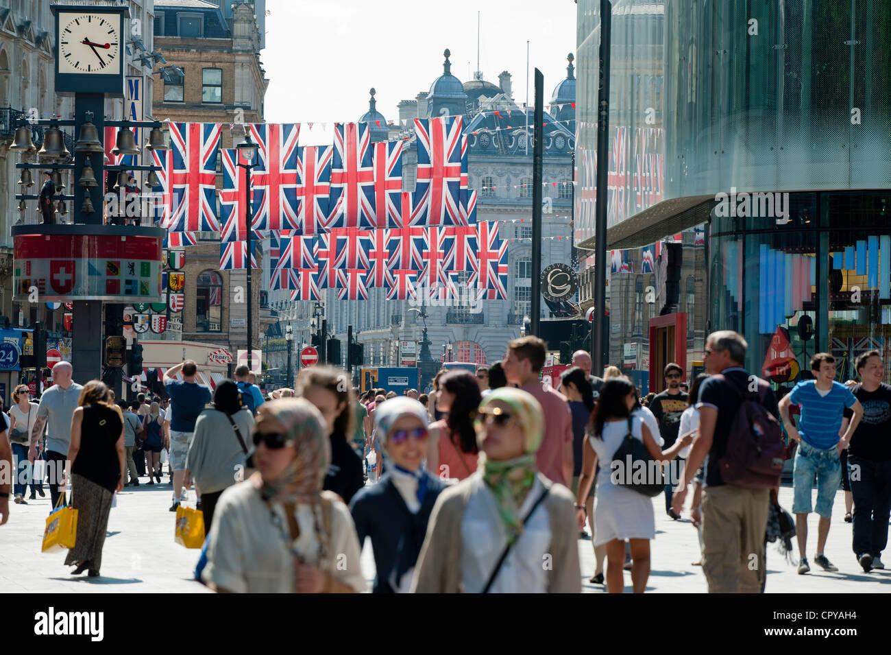 Leicester Square, London, United Kingdom - Stock Image