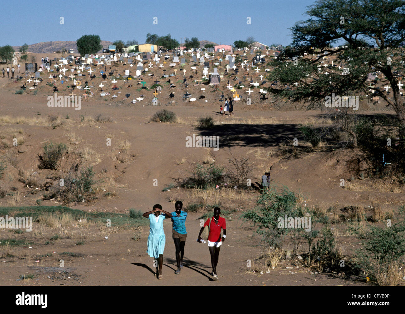 Namibia, Windhoek, Township of Katutura - Stock Image