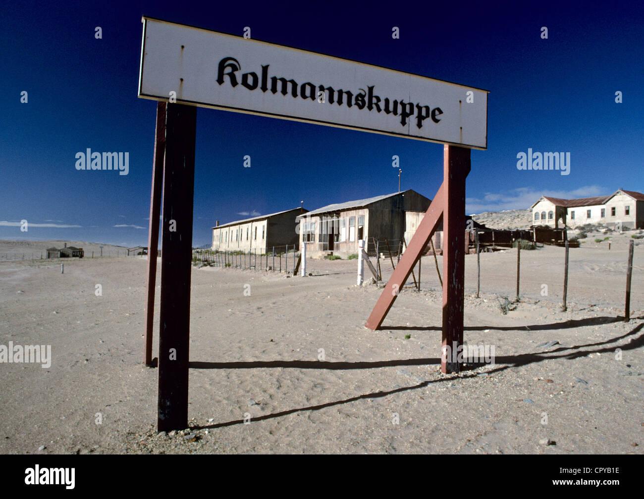 Namibia, Kolmansjop, mining ghost town - Stock Image