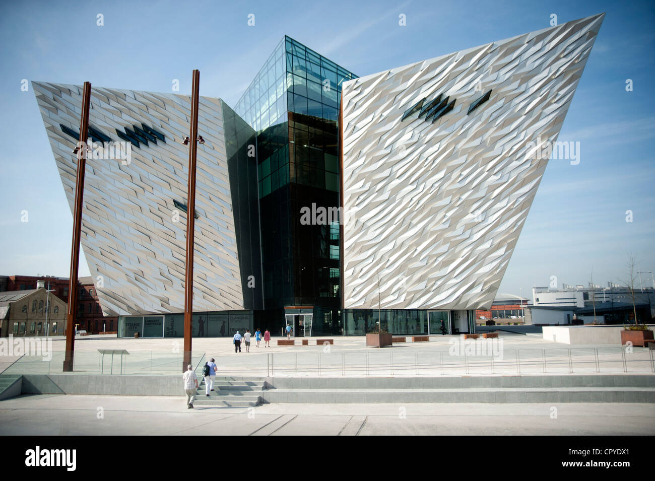 Belfast Titanic Museum and Visitor Centre, Belfast City, County Antrim, Northern Ireland - Stock Image
