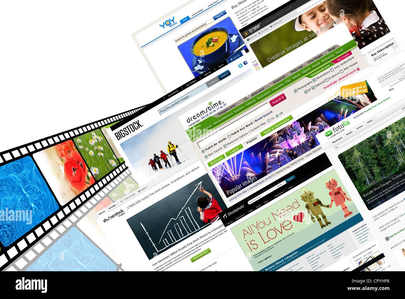 stock photography websites - Stock Image