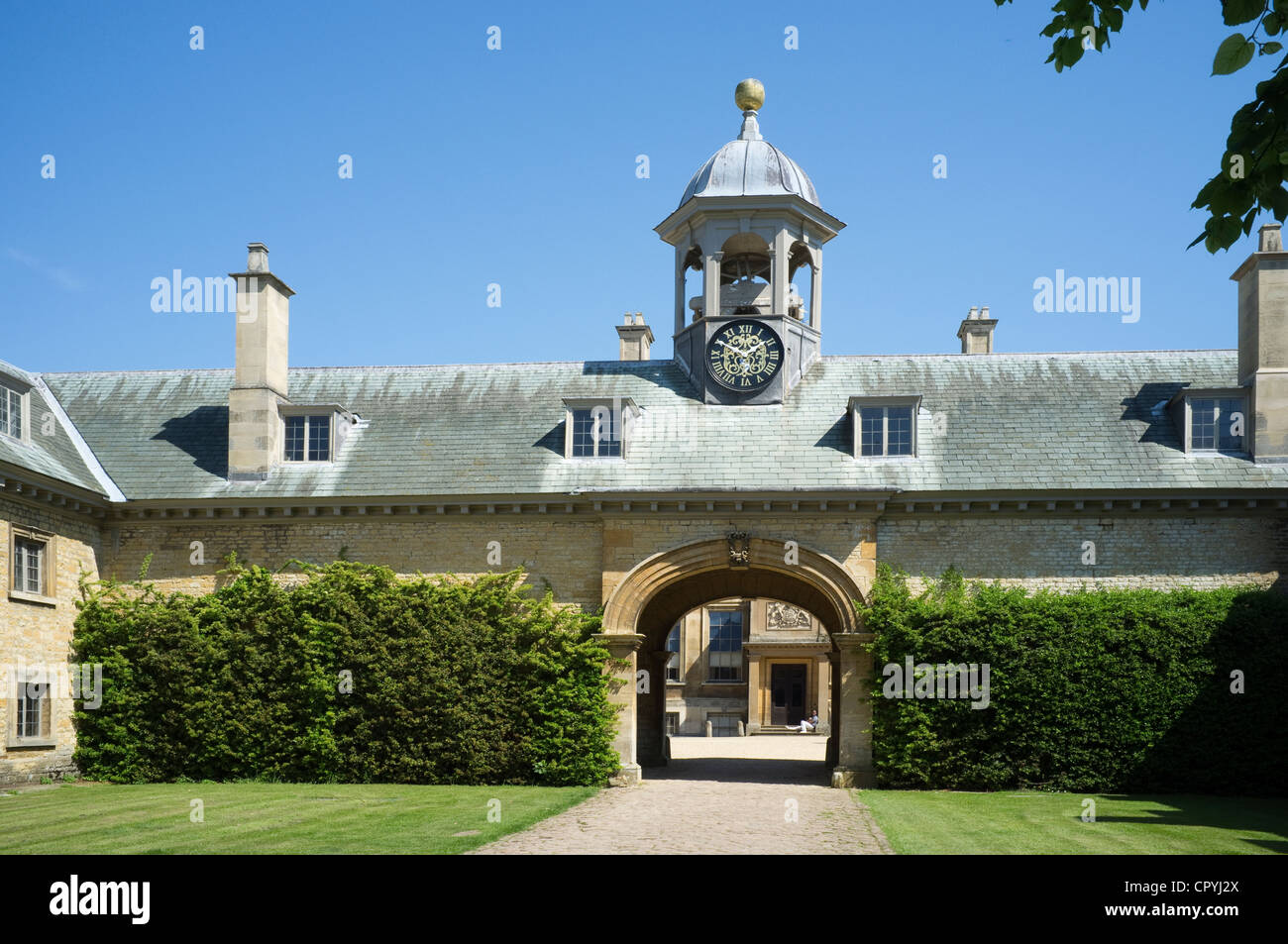 Belton Grade 1 Listed Country House Grantham Lincolnshire -2 - Stock Image