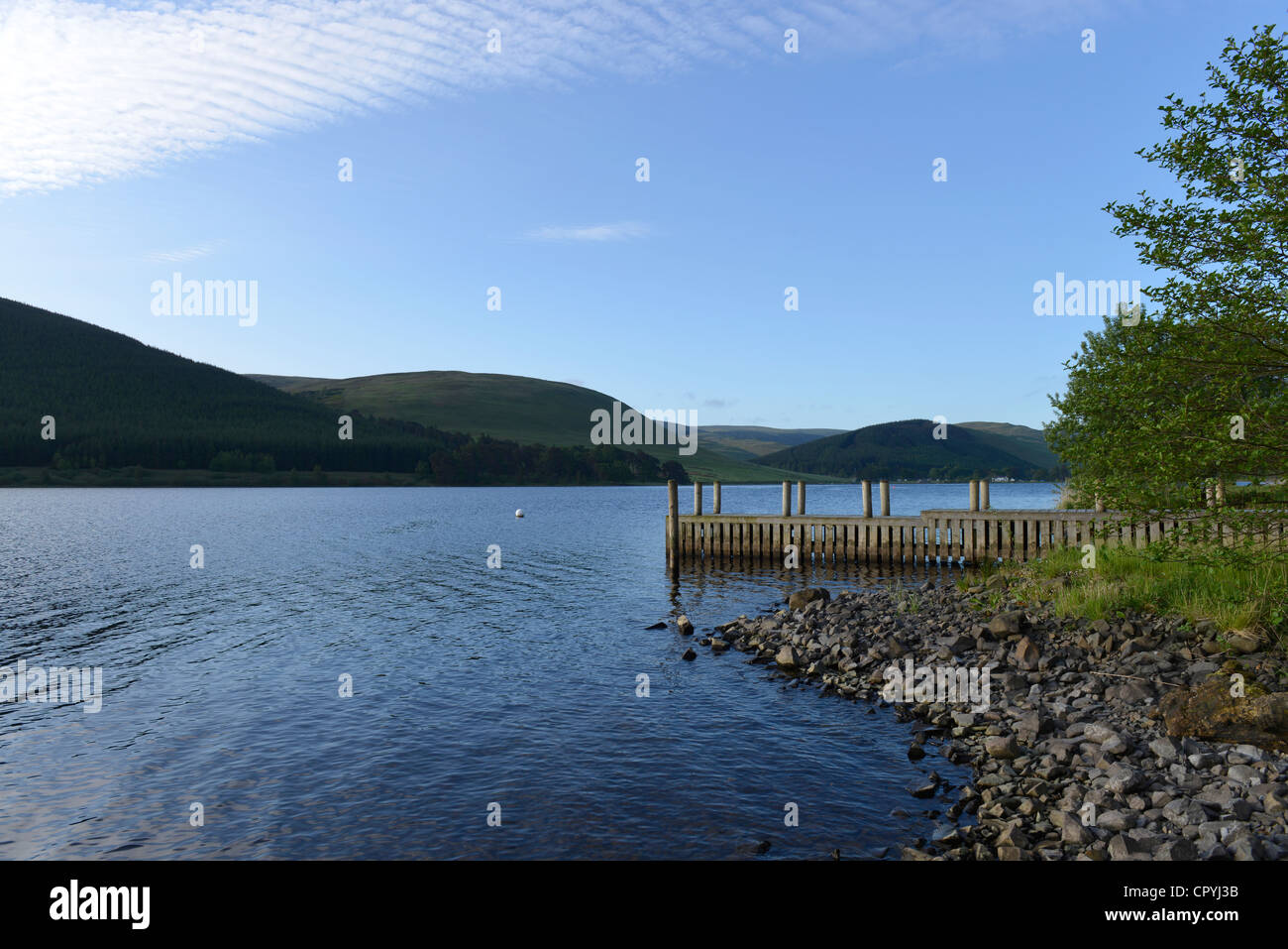 St Mary's Loch, Scottish Borders -5 - Stock Image