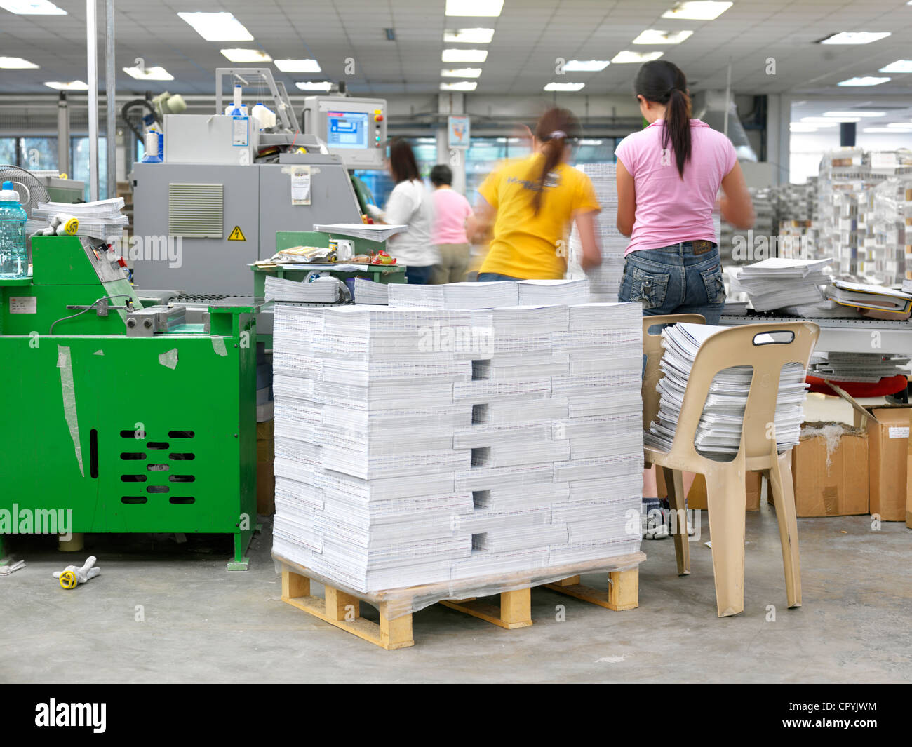 A full scale printing press in Singapore Stock Photo: 48550704 - Alamy