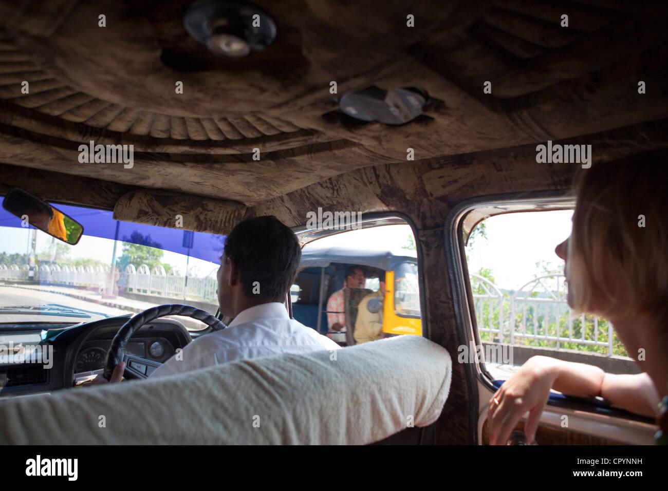 ambassador car kerala stock photos ambassador car kerala stock images alamy. Black Bedroom Furniture Sets. Home Design Ideas