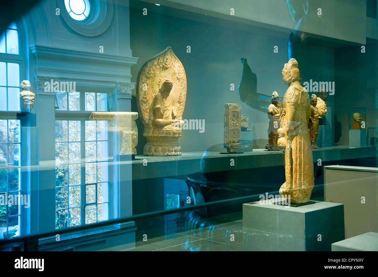 France, Paris, Musee Cernuschi, Museum of Asian Art - Stock Image