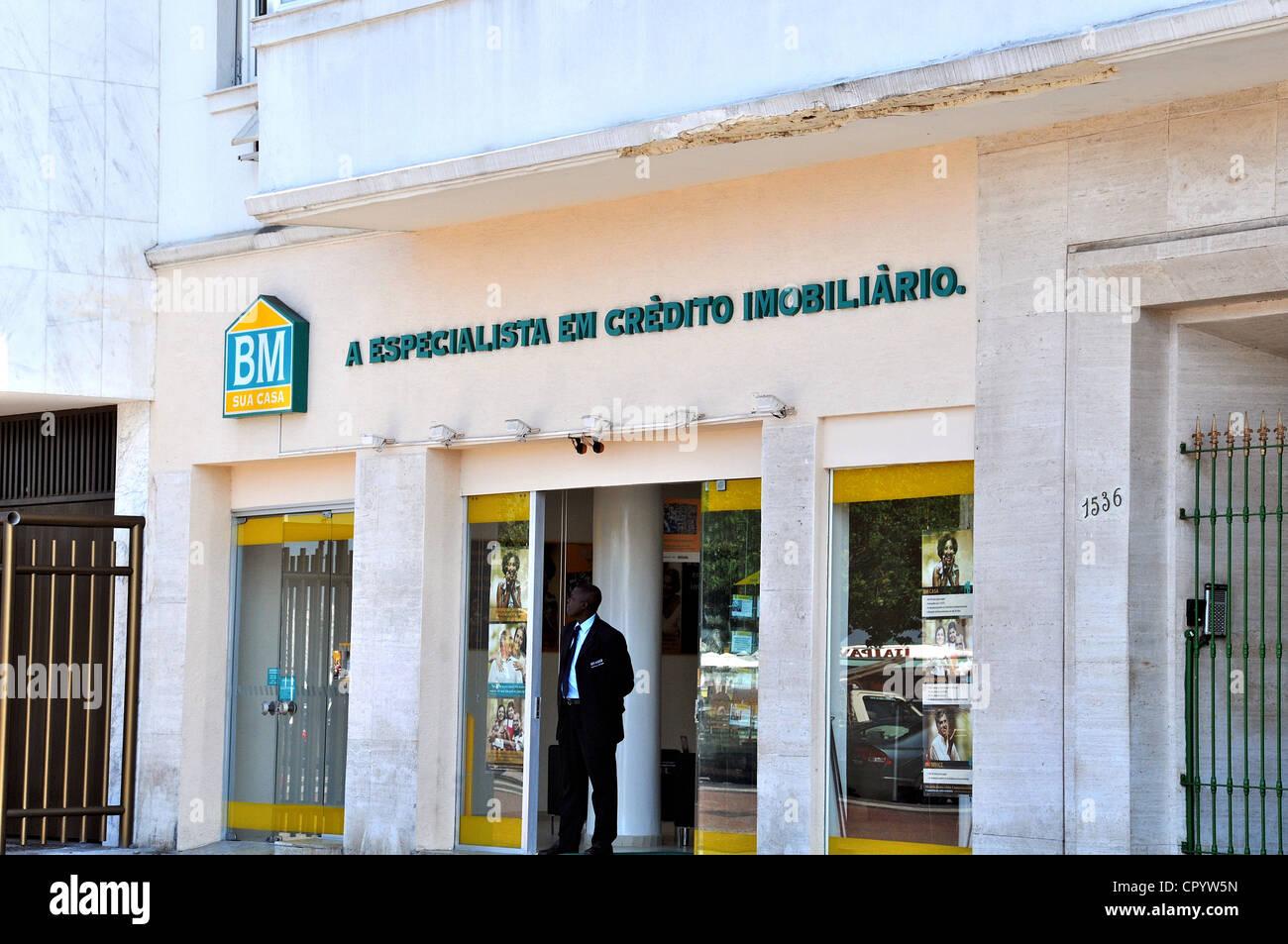 BM Sua Casa office Copacabana Rio de Janeiro Brazil South America - Stock Image