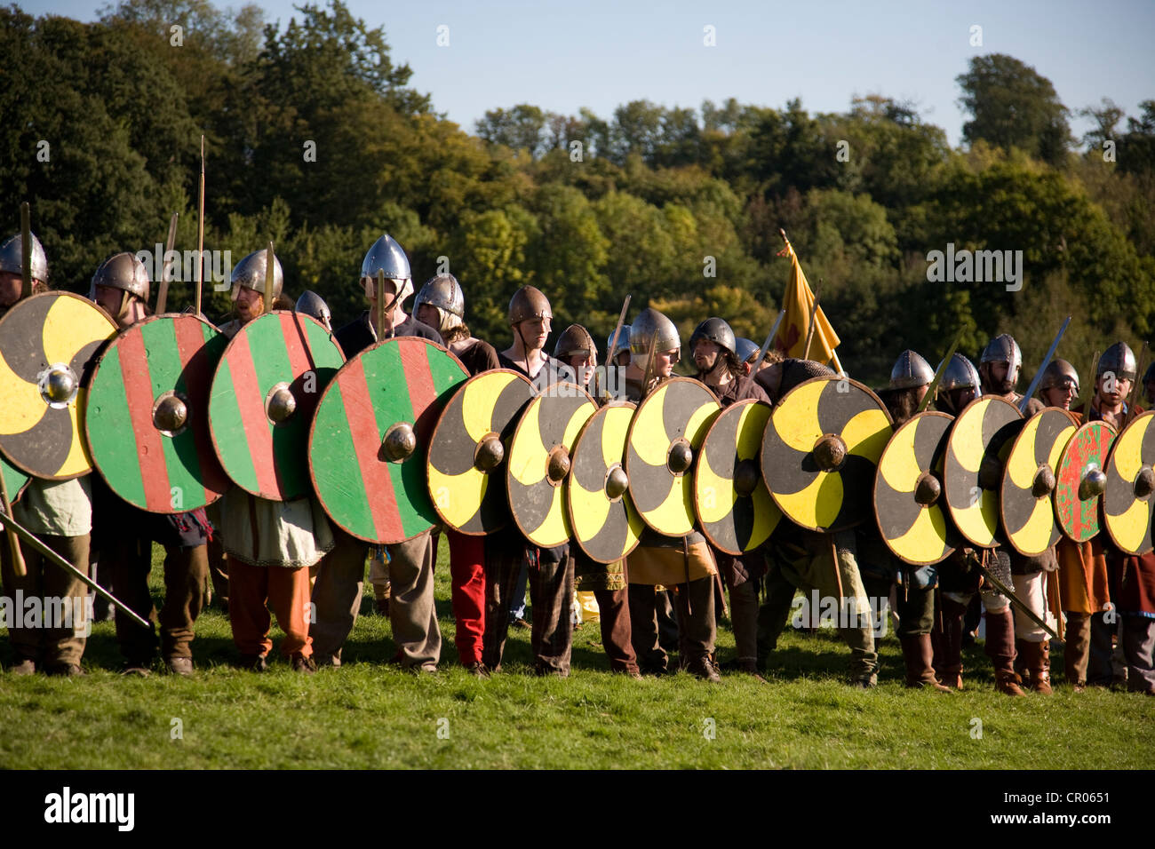 1066 Stock Photos Images Alamy Battle Story Hastings Reenactment Of East Sussex
