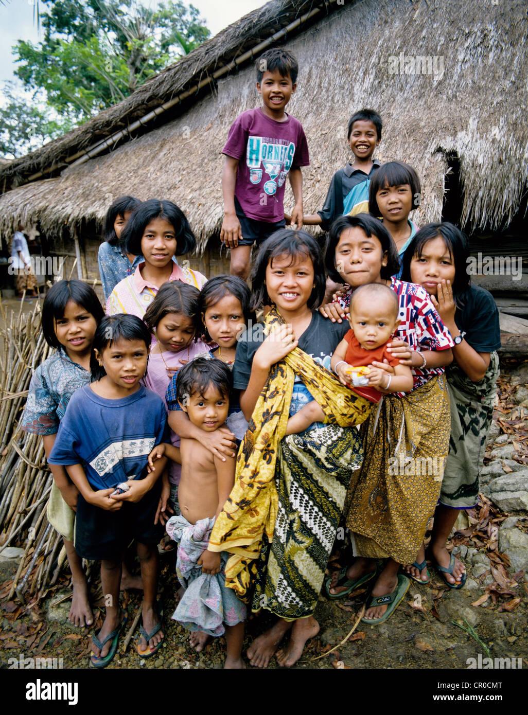 Girl Baby Poor Bali Poverty Stock Photos Girl Baby Poor