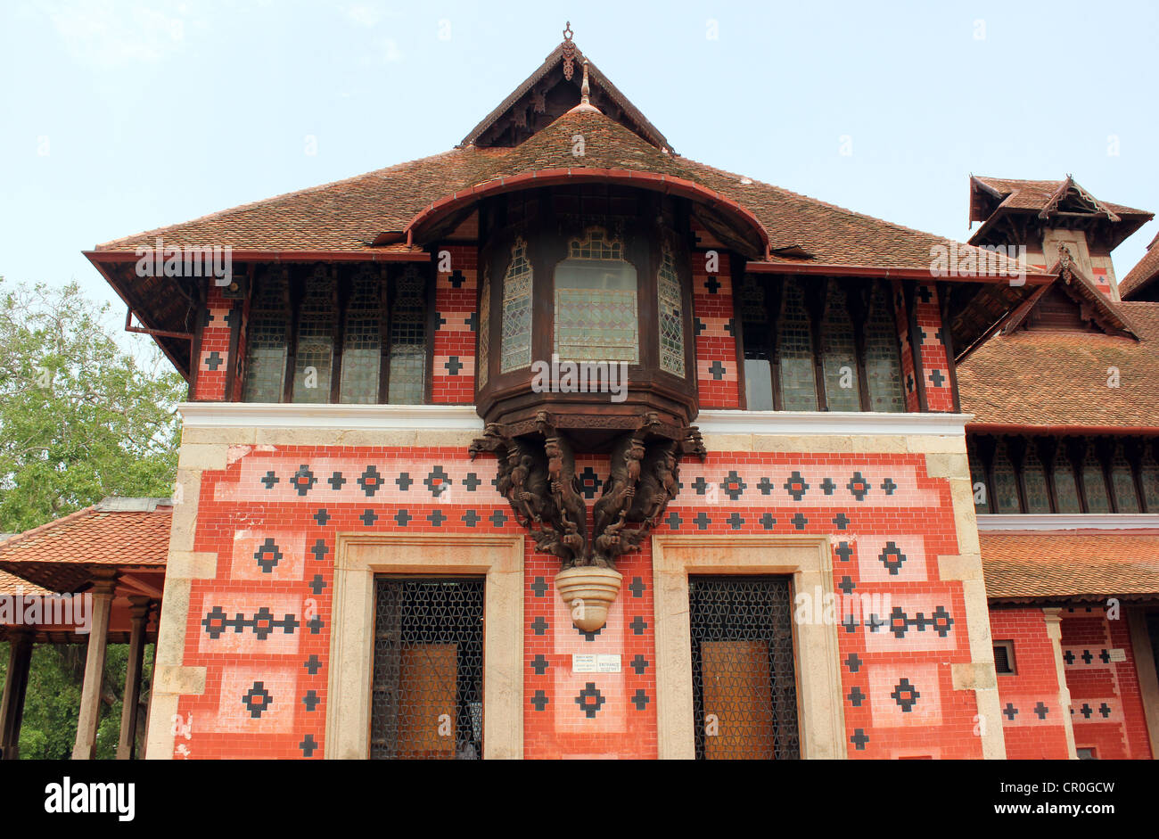 Napier Museum of Art and Natural history Trivandrum Kerala India Stock Photo