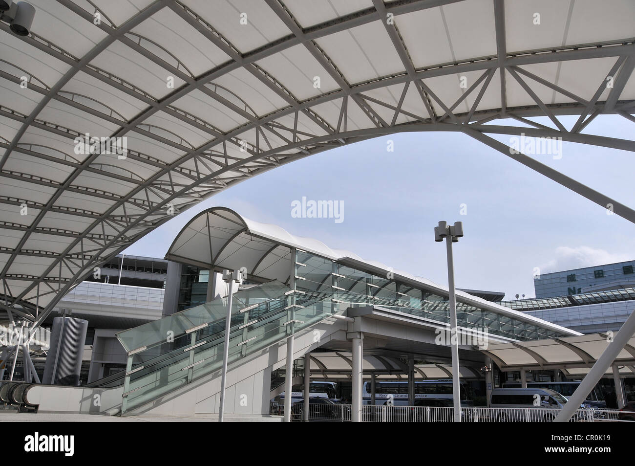 Narita International airport Japan - Stock Image