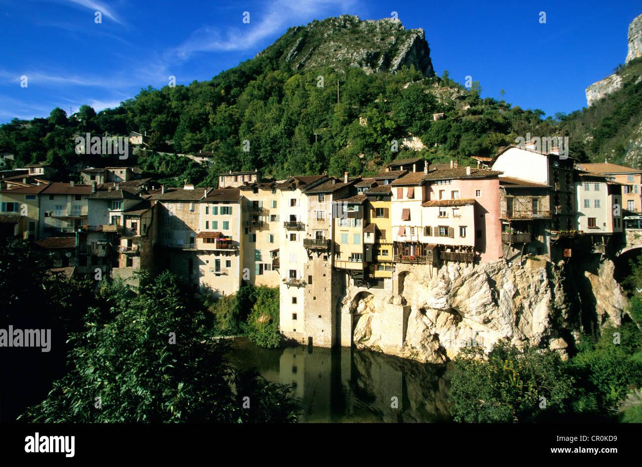 France isere pont en royans near the parc naturel regional du stock photo 48573093 alamy - Office du tourisme pont en royans ...