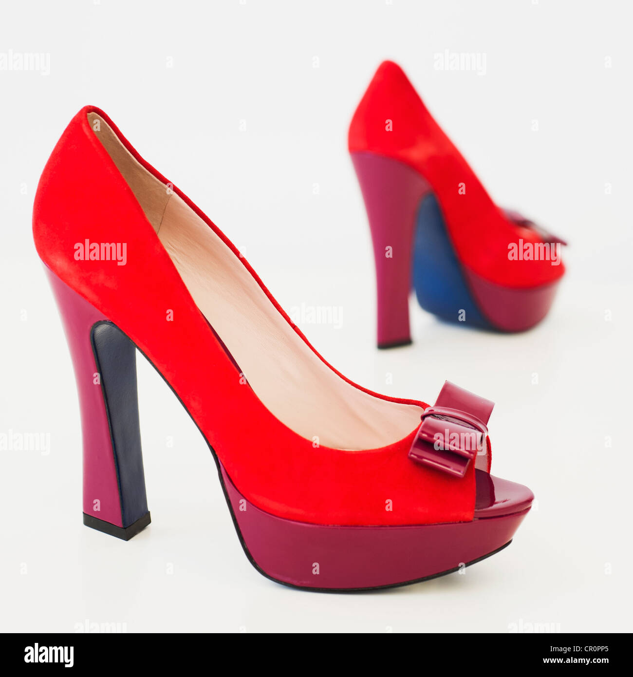 cb2472777af Purple High Heels Stock Photos & Purple High Heels Stock Images - Alamy