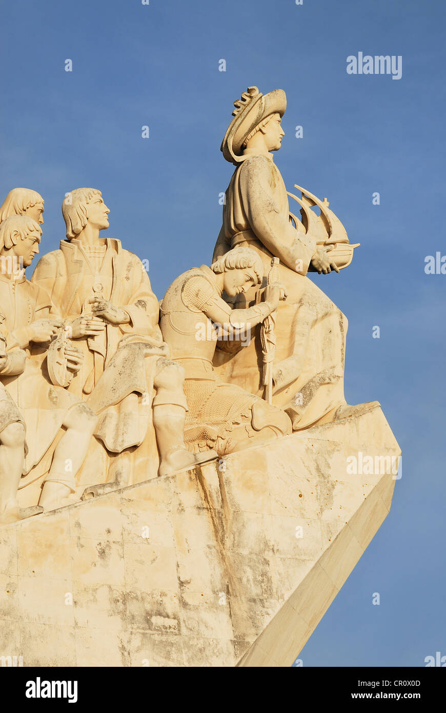 The Padrao dos Descobrimentos (Monument to the Discoveries) - Stock Image