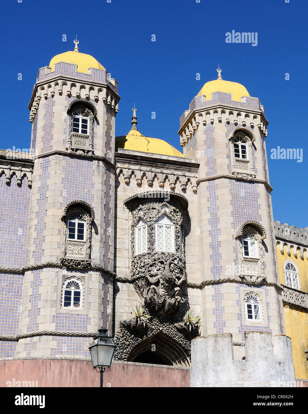 Pena National Palace in Sintra, Portugal (Palacio Nacional da Pena) Stock Photo