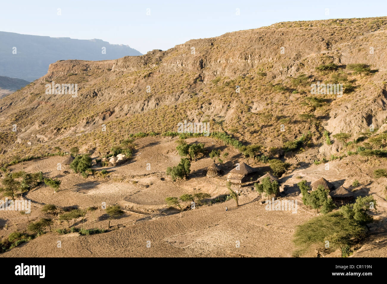 Ethiopia, Amhara Region, Surroundings of Lalibela - Stock Image