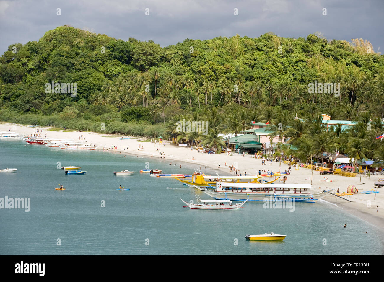 Philippines Mindoro Island Sea Resort Of Puerto Galera