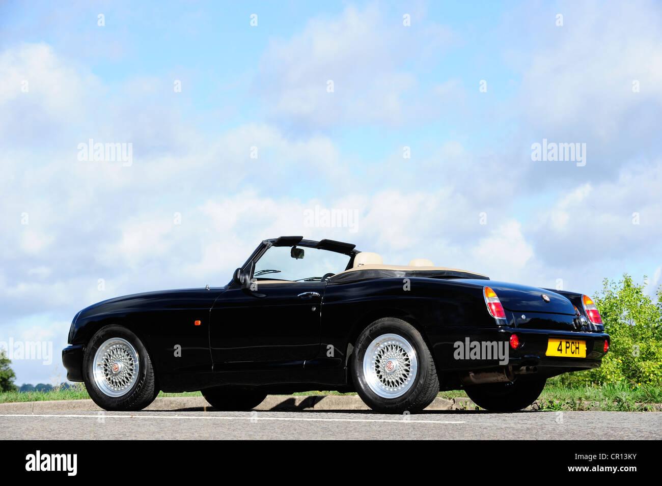 1996 MG RV8 Roadster British sports car - Stock Image