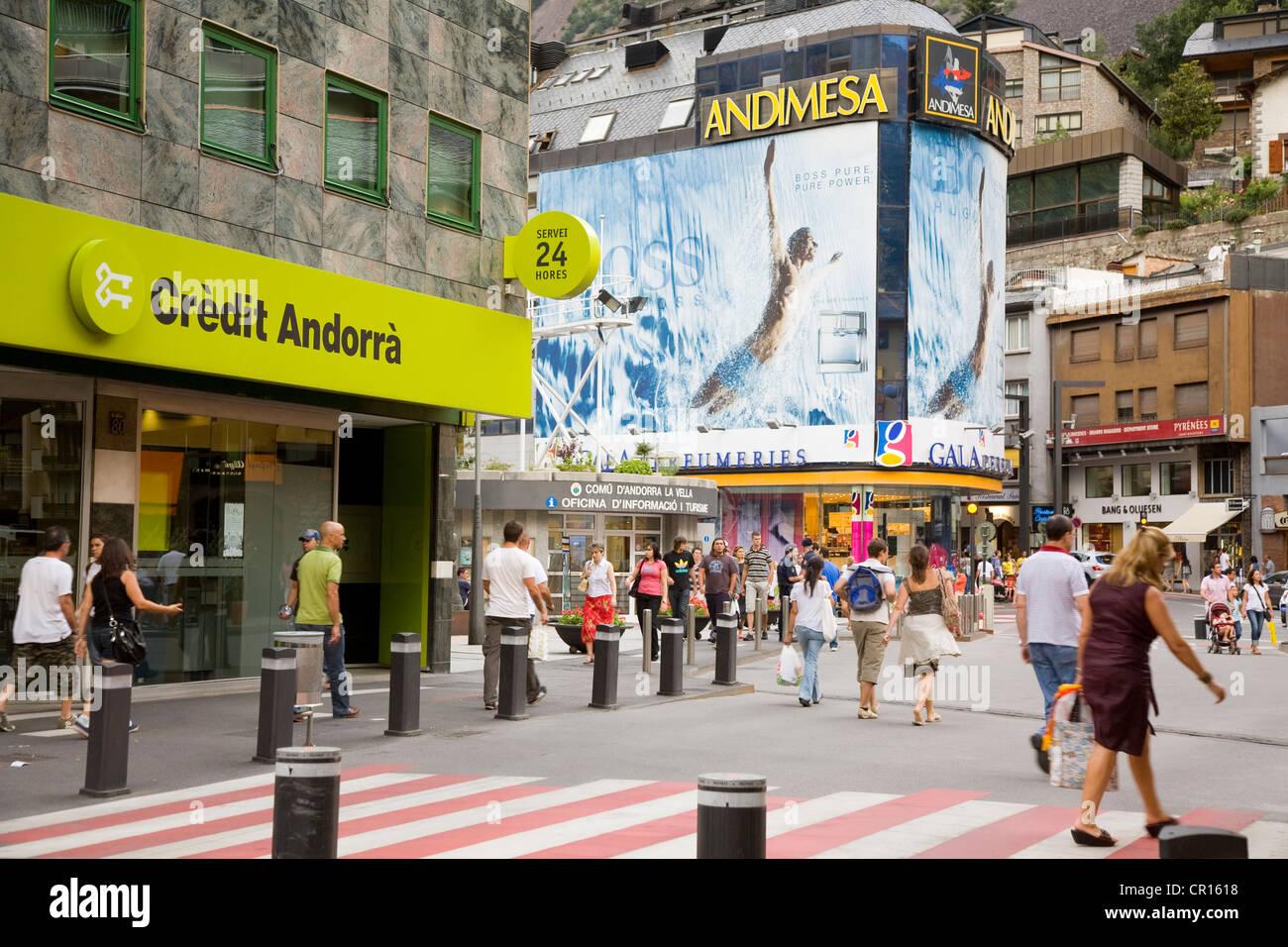 Andorra, Andorra la Vella - Stock Image