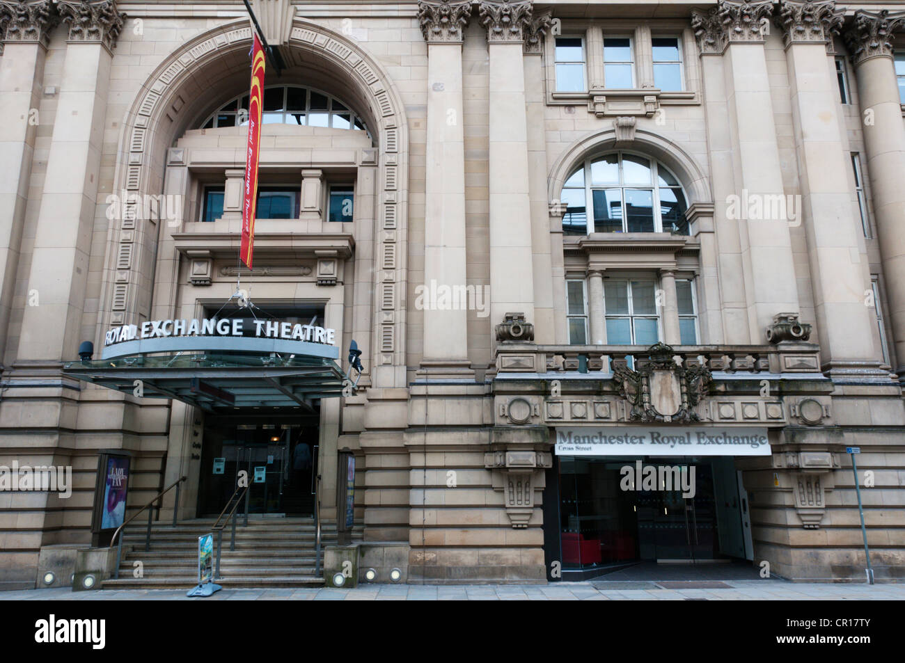 Manchester Royal Exchange Theatre. - Stock Image
