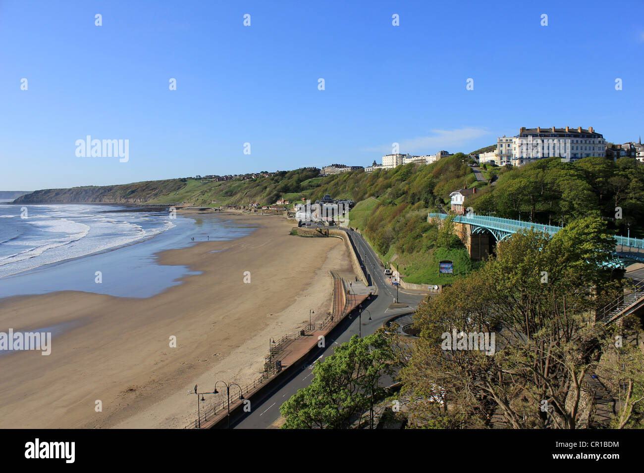 England North Yorkshire Scarborough South Bay Jeanetta Baker - Stock Image
