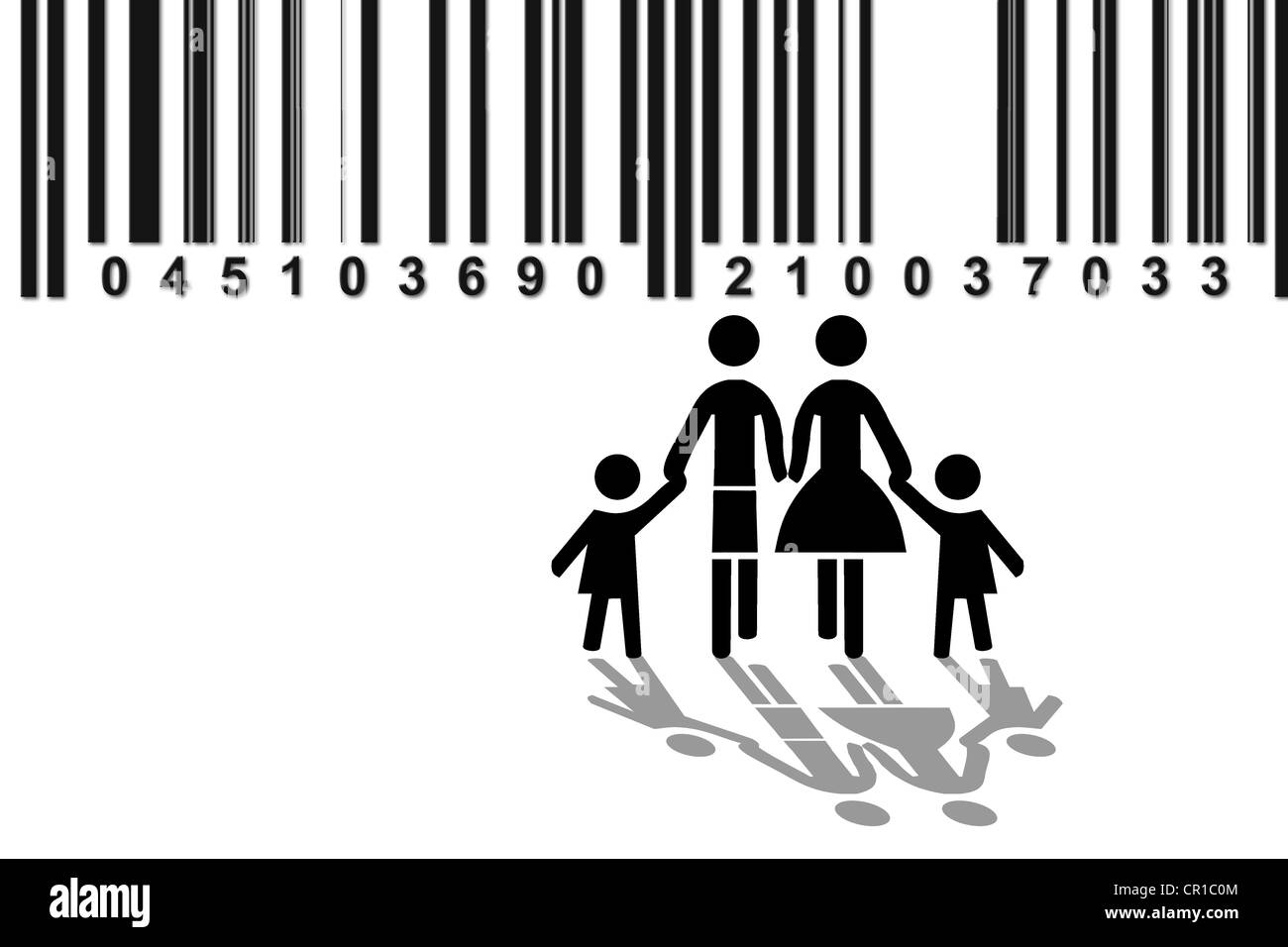 Symbolic Image For Family Observation Of Families With Barcode