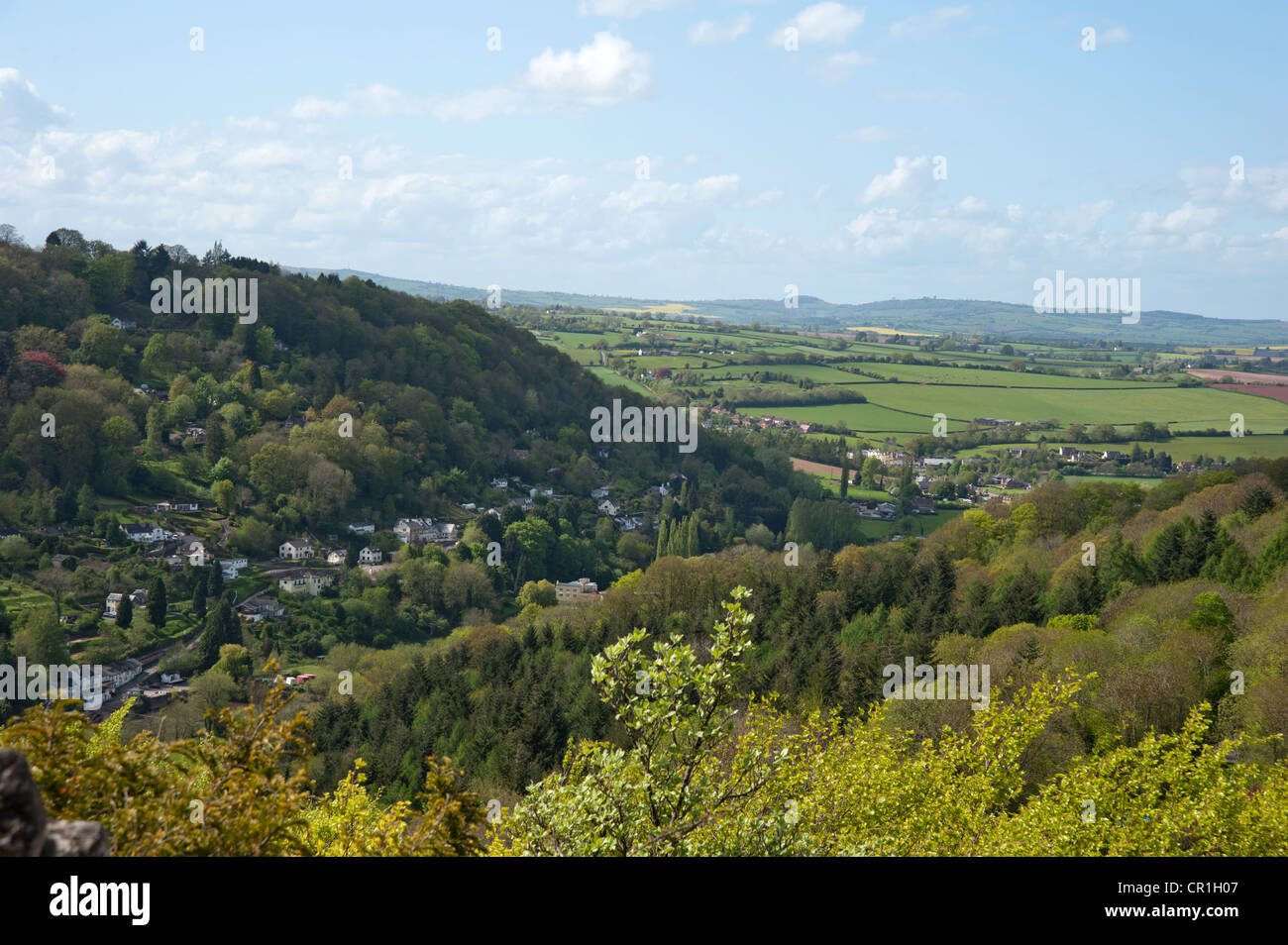 'Symond's Yat rock' , Herefordshire, - Stock Image