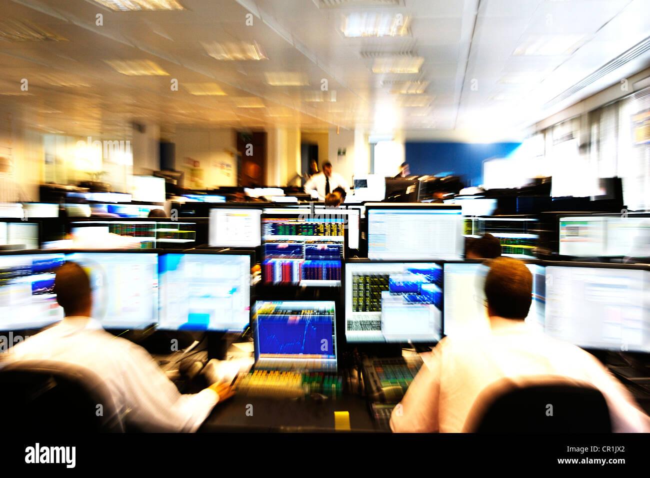 Trader exchange