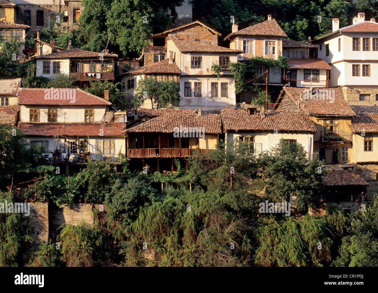 Bulgaria, Central Region, Veliko Tarnovo City Stock Photo
