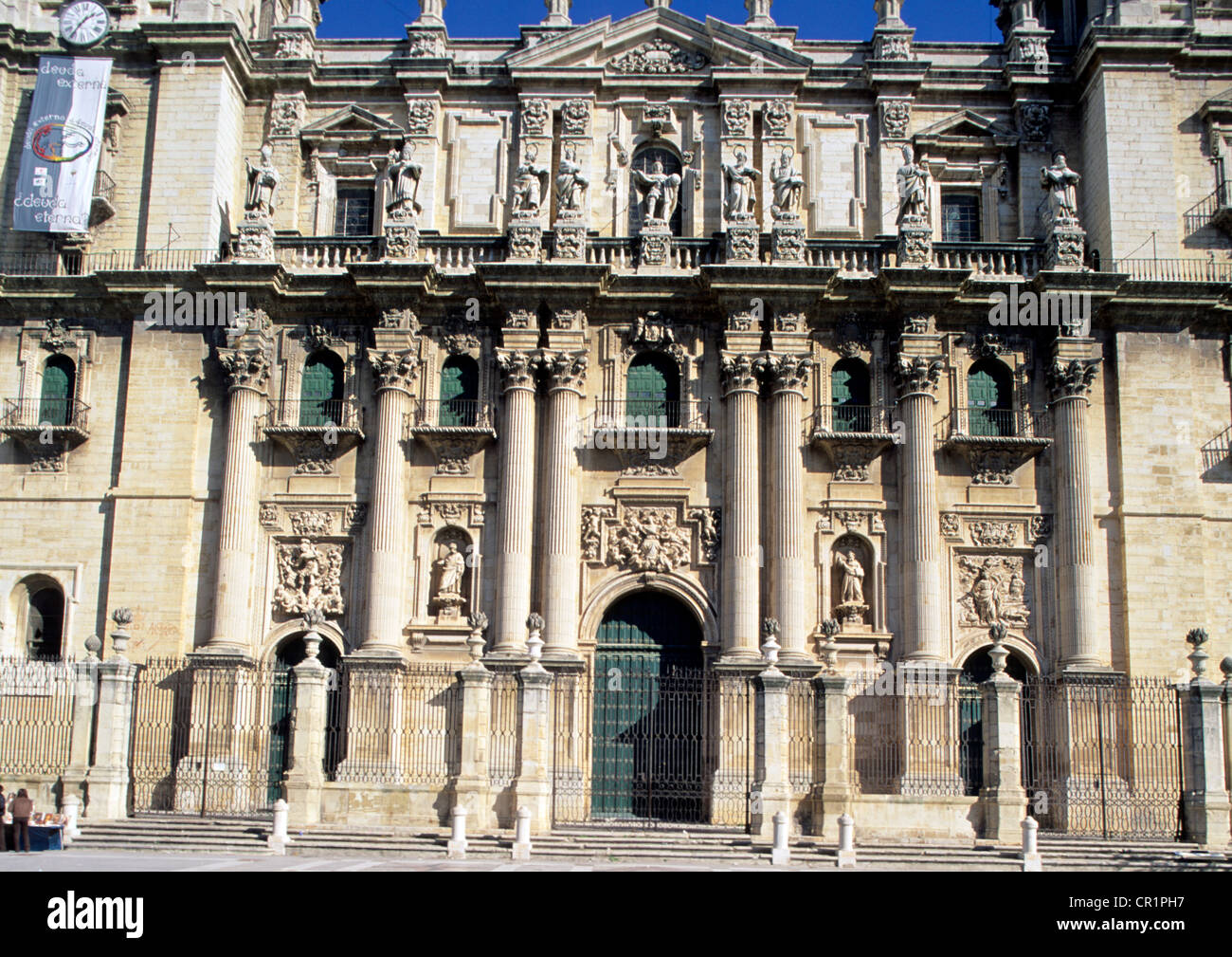Spain, Andalusia, Jaen, the cathedral - Stock Image