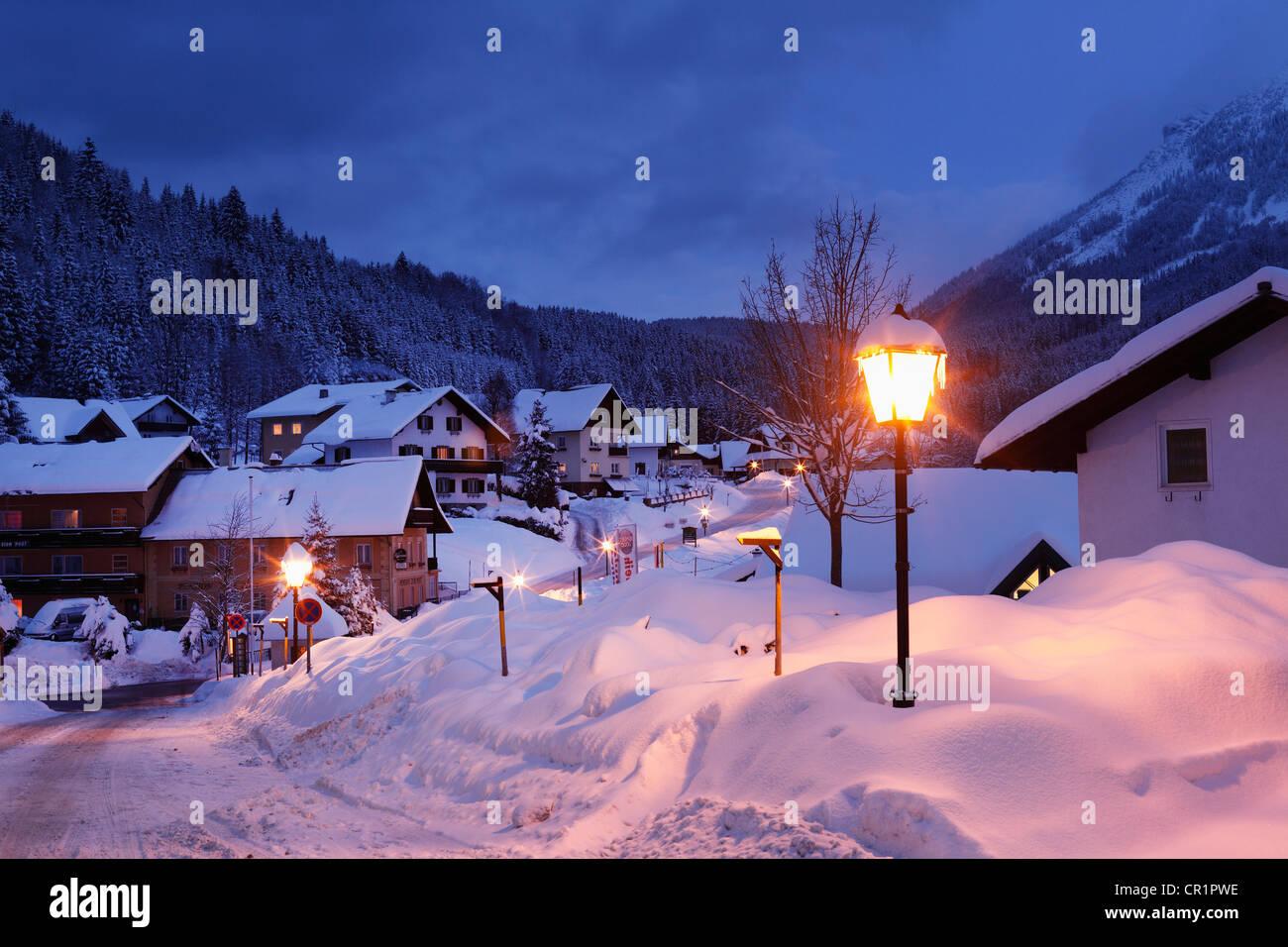 Lackenhof, community of Gaming, Mostviertel, Must Quarter, Lower Austria, Austria, Europe - Stock Image