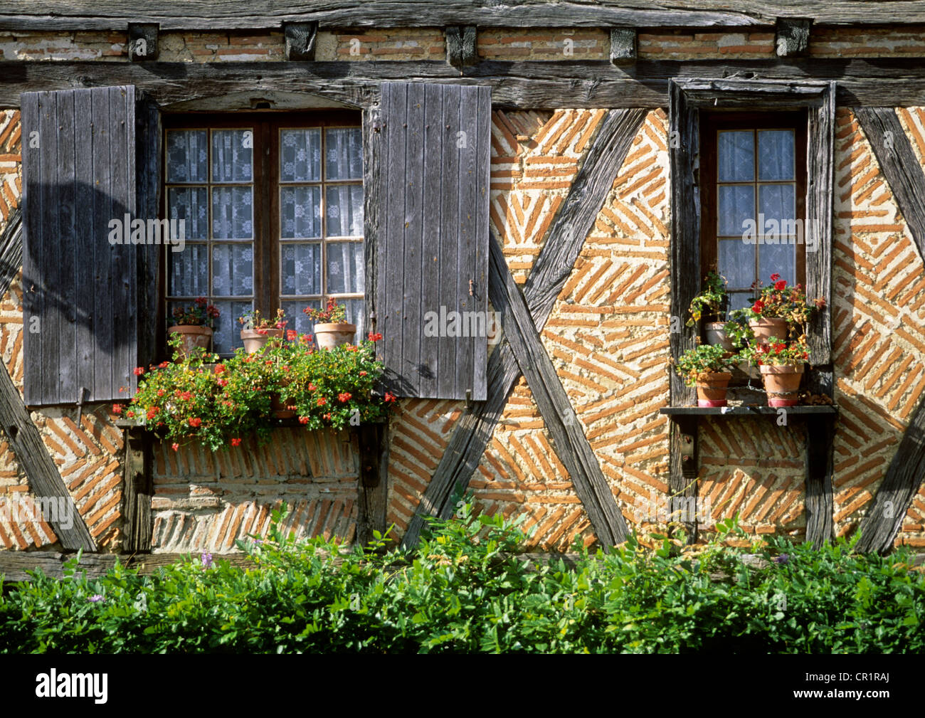 France, Tarn et Garonne, Dunes village, house in the central place - Stock Image