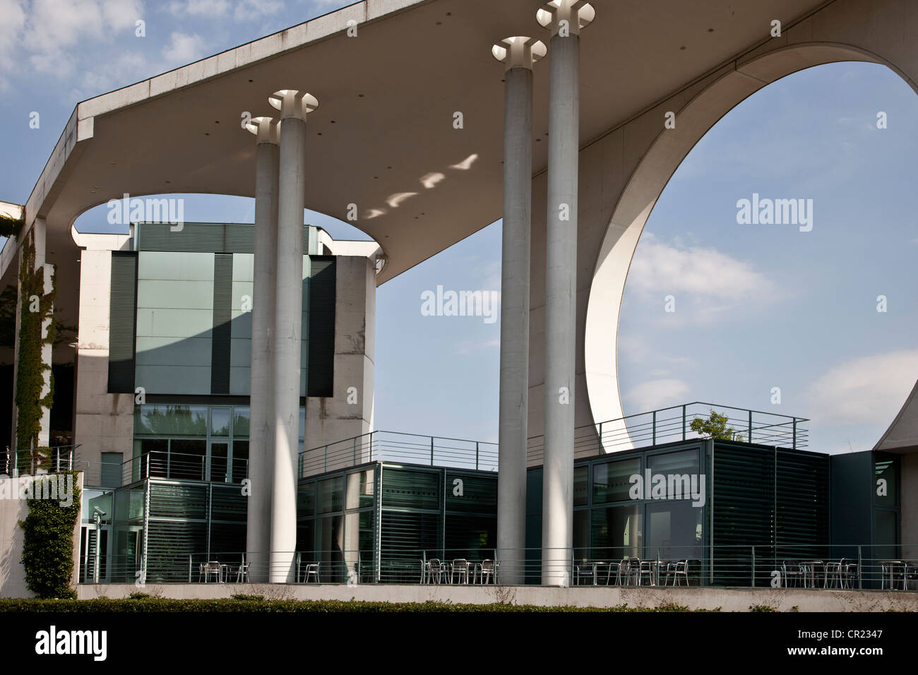 Infrastructure of modern building - Stock Image