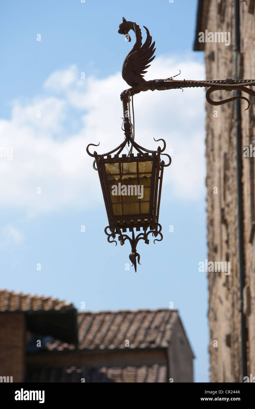 Close up of ornate streetlight - Stock Image