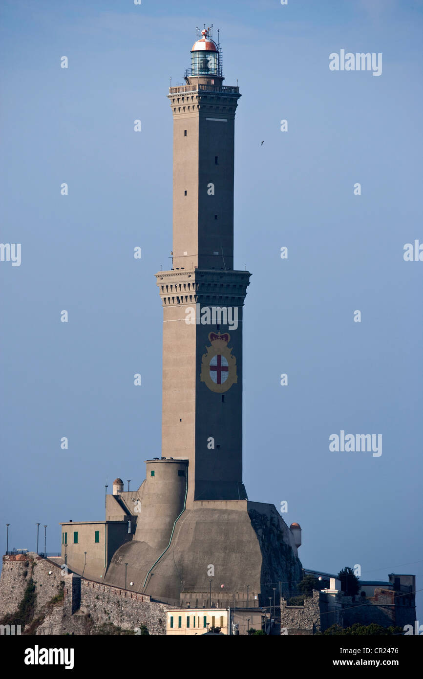 Watch tower on coastline - Stock Image