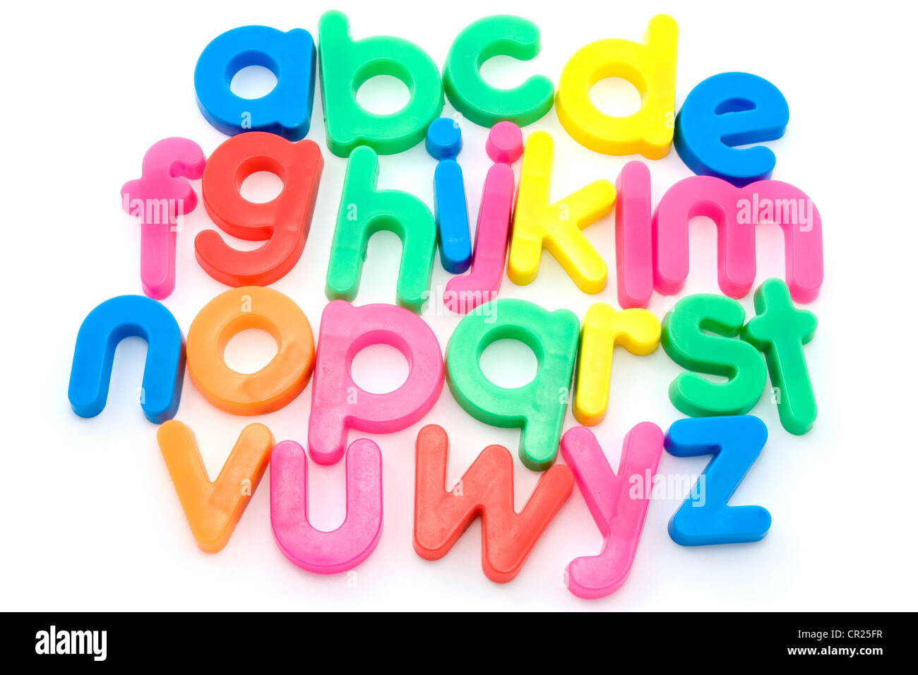 Abc Letter Plastic Colors Stock Photos & Abc Letter Plastic Colors ...
