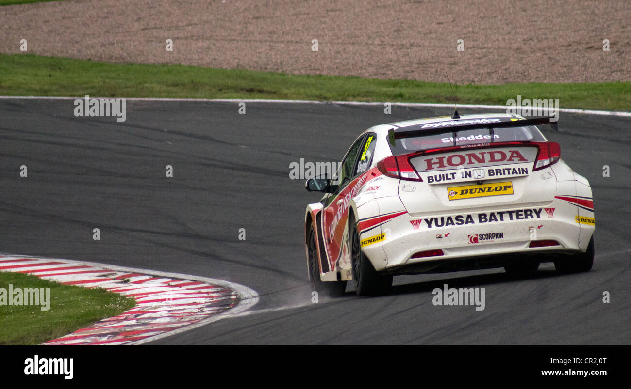 Practice session of the British Touring Cars at Oulton Park, England, June 9th 2012 - Stock Image