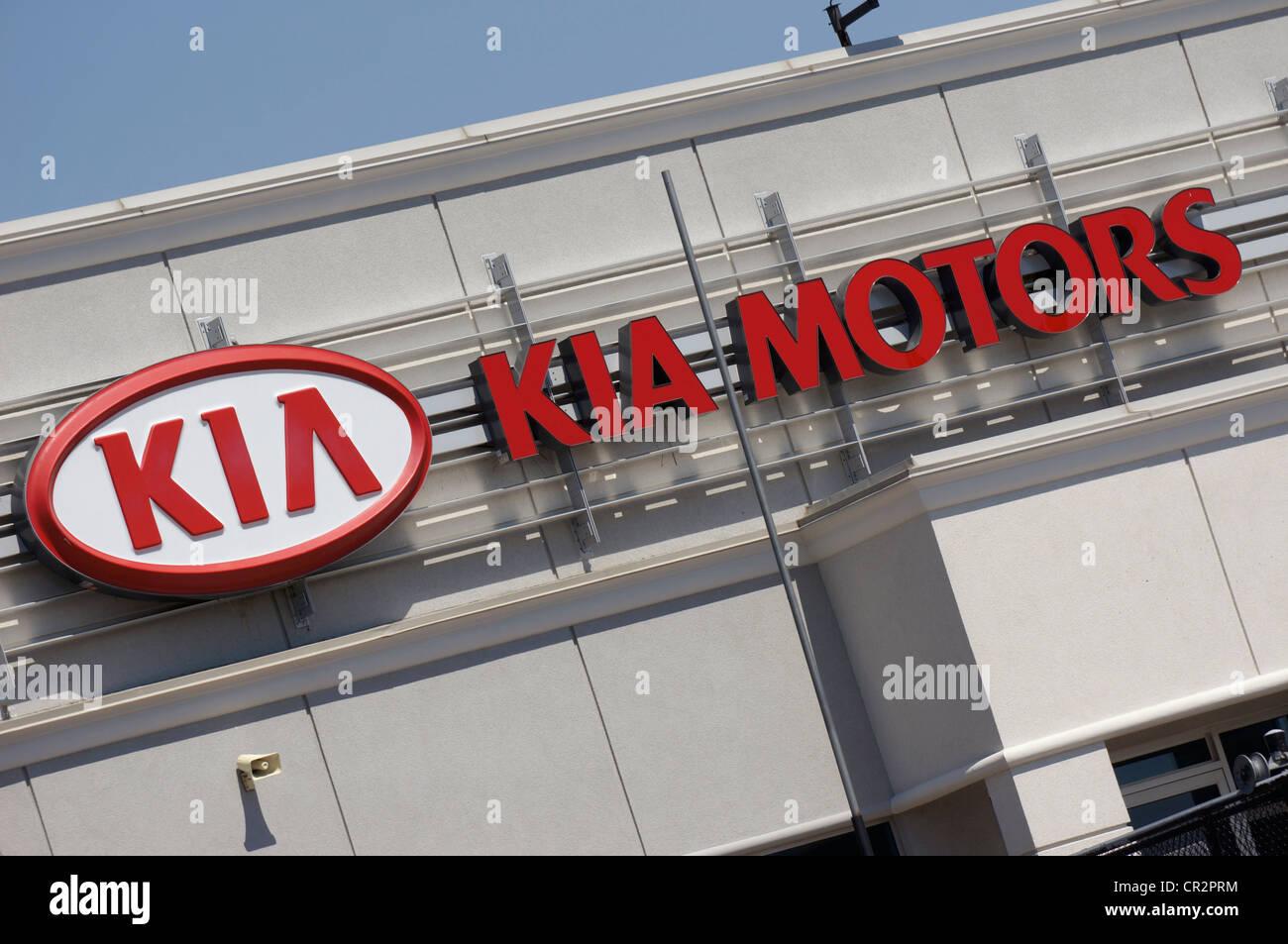 KIA Motors - Stock Image