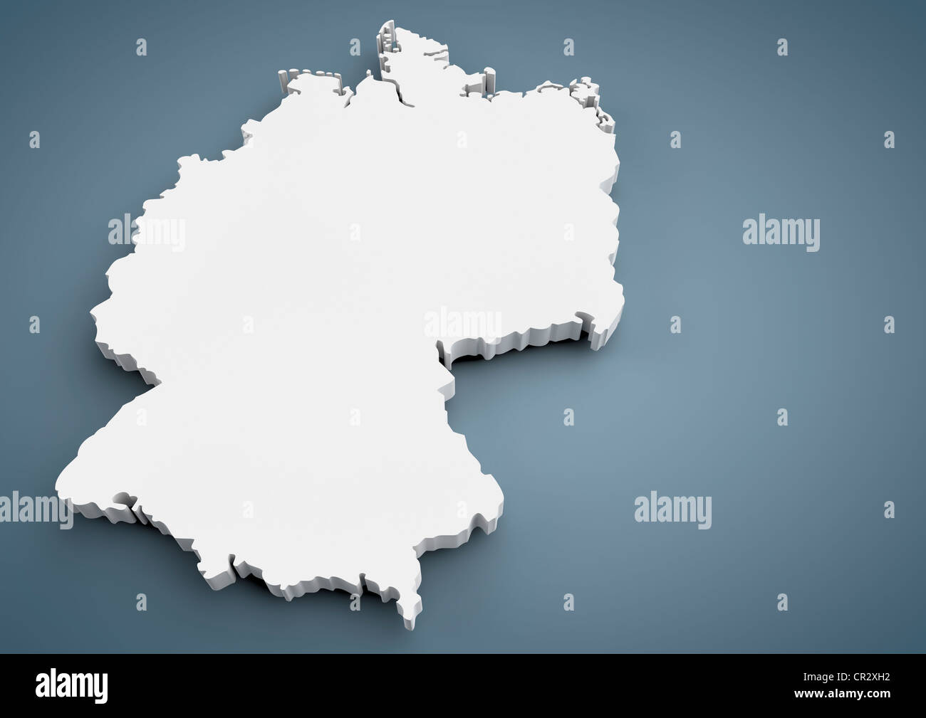 Map Of Germany 3d.Outline Of Germany Map 3d Illustration Stock Photo 48622590 Alamy
