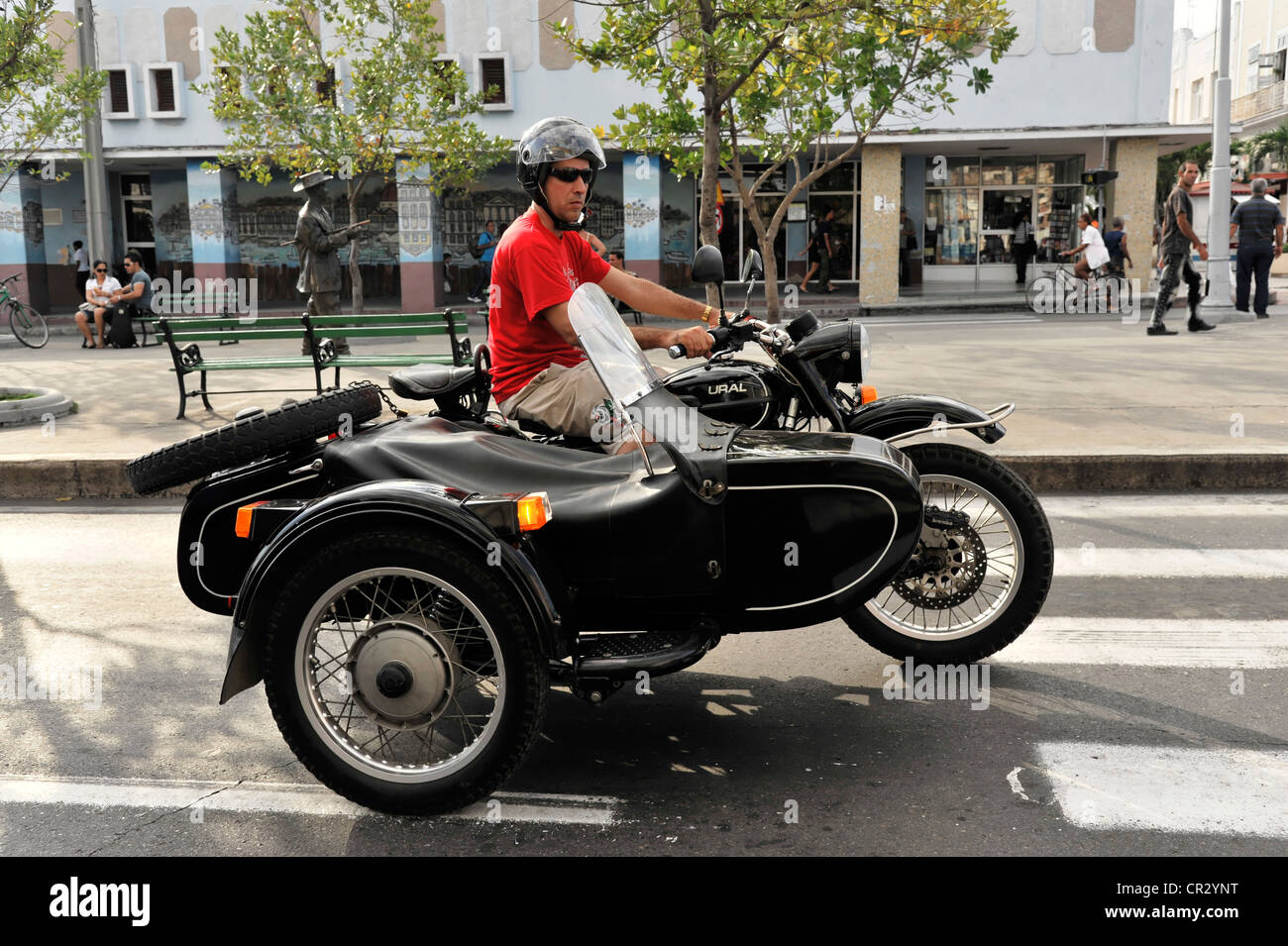 A Sidecar Stock Photos Images Alamy Tt2011 Sidecars Ural Motorcycle From Russia With Cienfuegos Cuba Greater Antilles