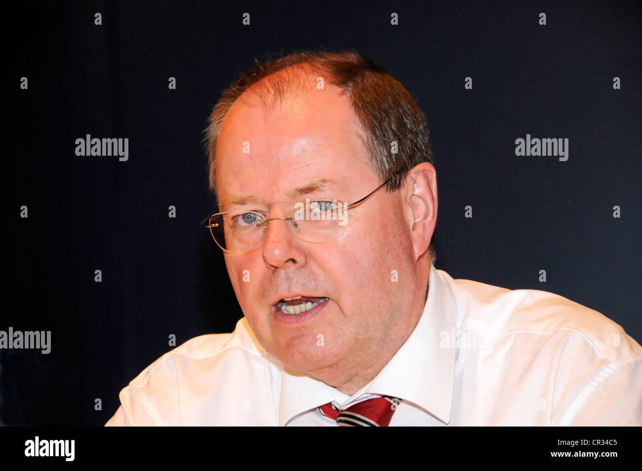 Peer Steinbrueck, member of Parliament, SPD, social democratic party, Germany, Europe - Stock Image