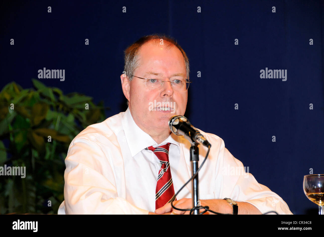 Peer Steinbrueck, Federal Minister of Finance, SPD, social democratic party, Germany, Europe - Stock Image