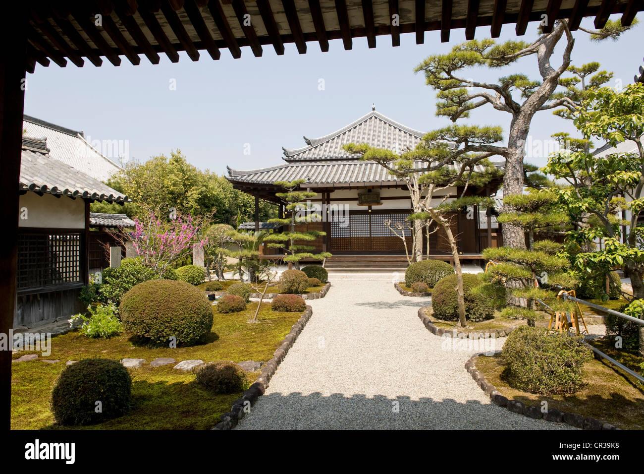 Japan, Honshu Island, Kinki Region, city of Nara - Stock Image