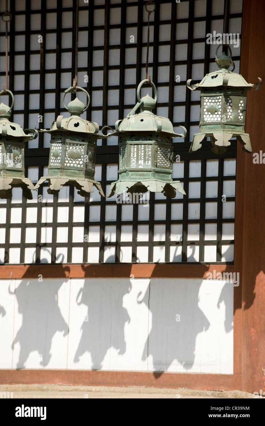 Japan, Honshu Island, Kinki Region, city of Nara, Historic Monuments of Ancient Nara UNESCO World Heritage, Kasuga - Stock Image