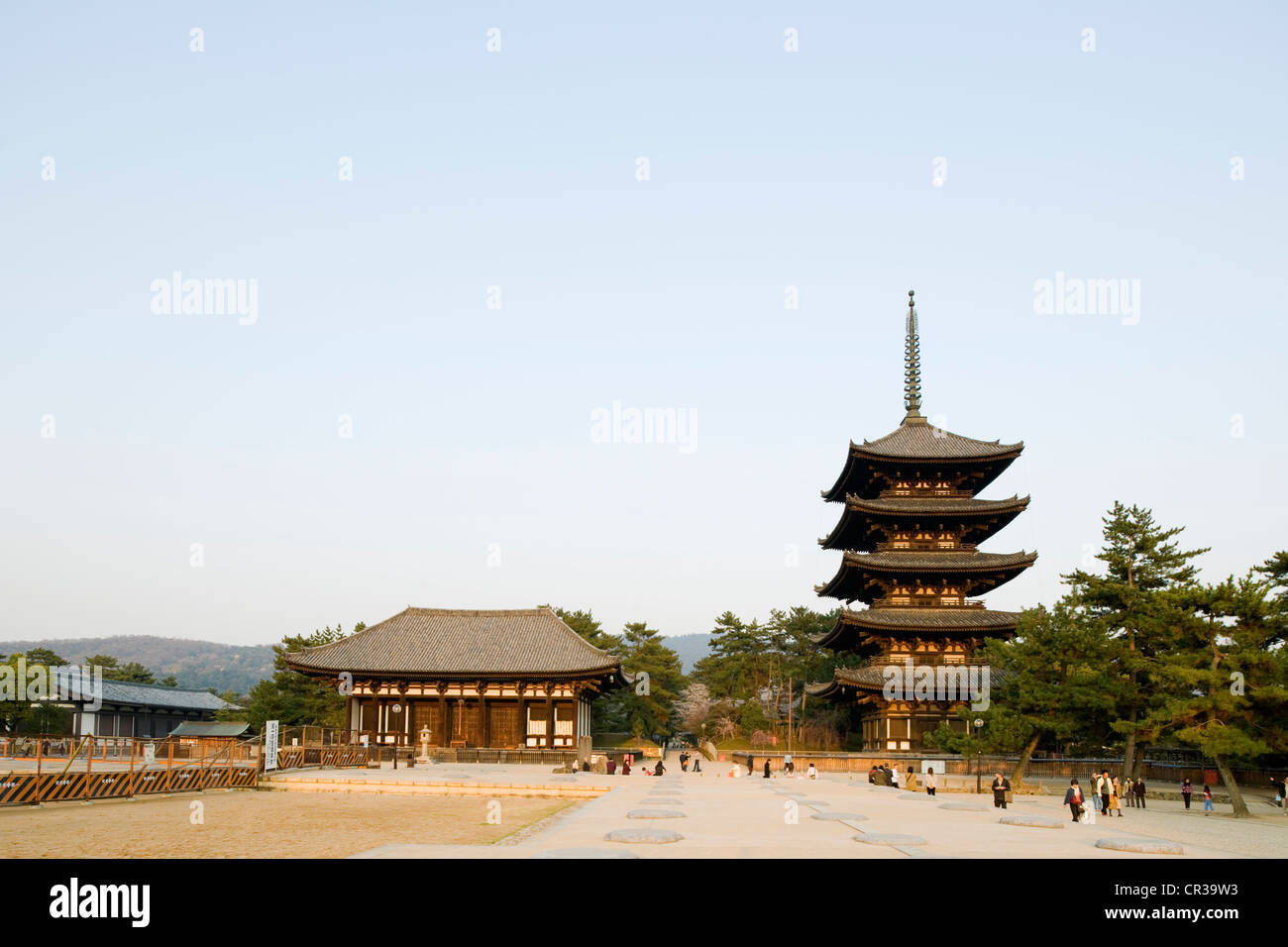 Japan, Honshu Island, Kinki Region, city of Nara, Historic Monuments of Ancient Nara UNESCO World Heritage, the - Stock Image