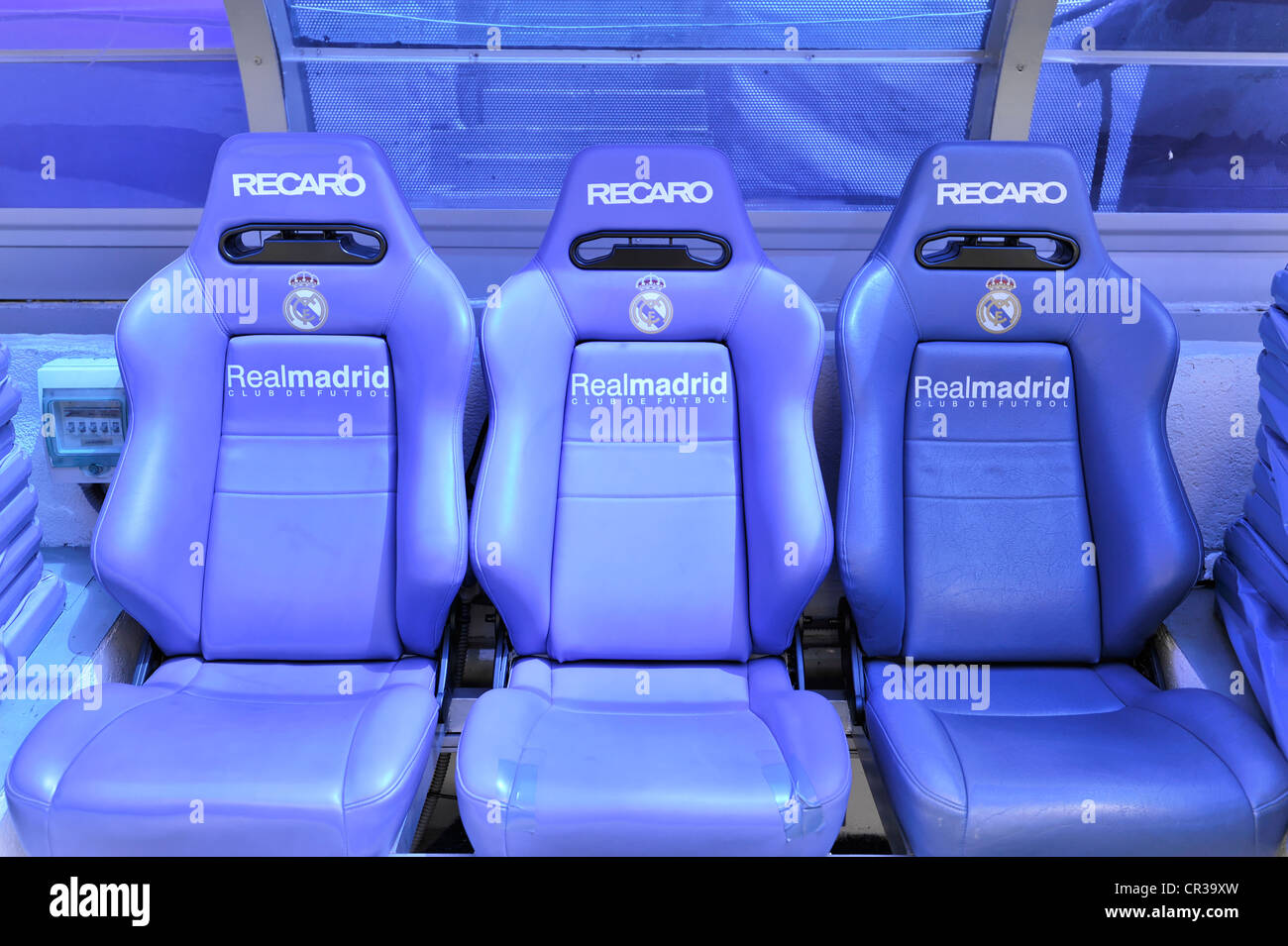 Seats In The VIP Area Estadio Santiago Bernabeu Soccer Stadium Of Spanish Football Club Real Madrid 80 354