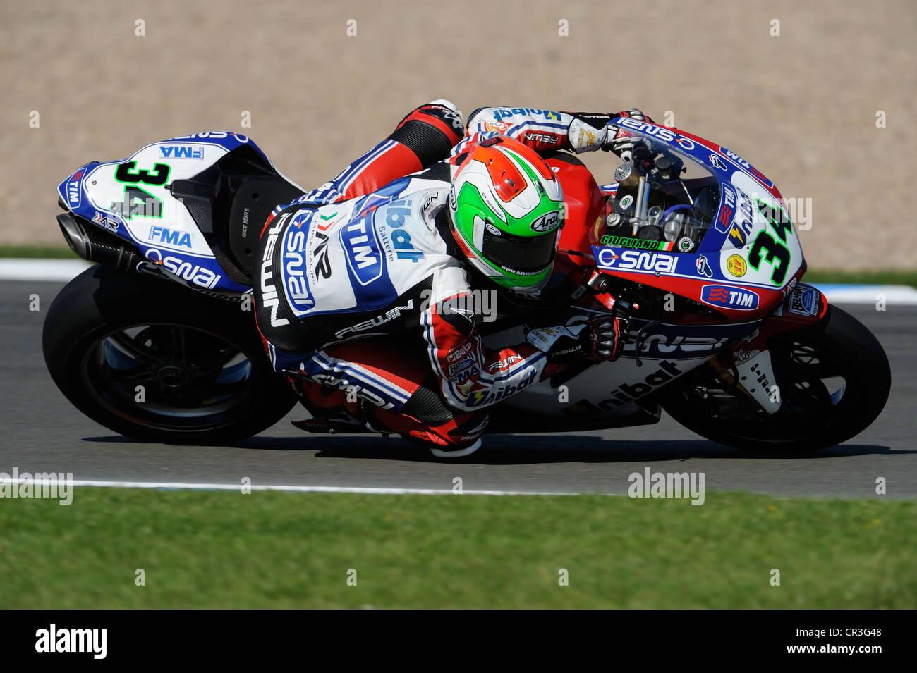 davide giugliano on the ducati, WSBK 2012 Stock Photo